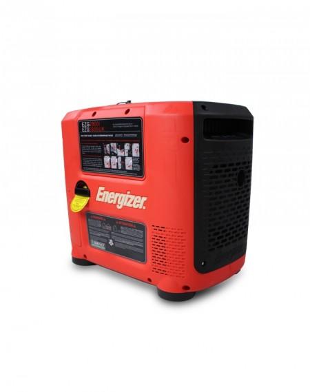 Energizer Generador Gasolina-Inverter EZG2800I 2800 W - Sistema AVR - Puesta en marcha