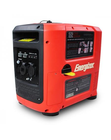 Energizer Generador Gasolina-Inverter EZG2200I  2200 W -silencioso  Sistema AVR