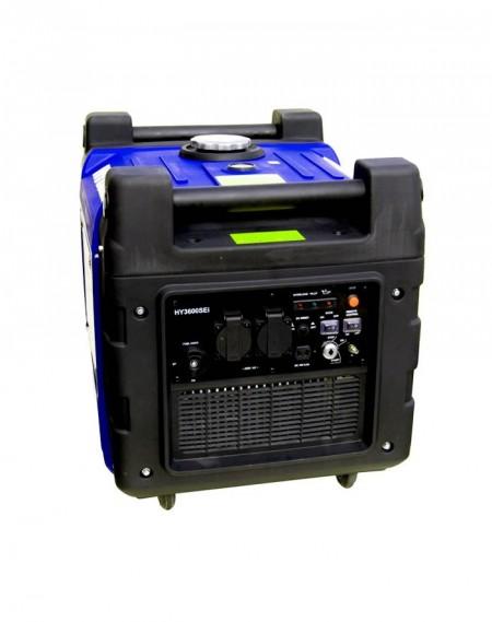 HYUNDAI Generador eléctrico Gazolina Inverter insonorizado 3400W - HY3600SEI